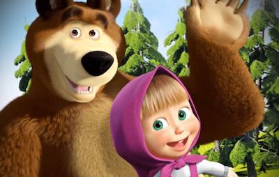 party a tema masha e orso